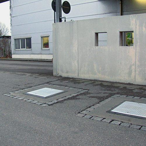 Couvercles de puits Fruchthof Nagel
