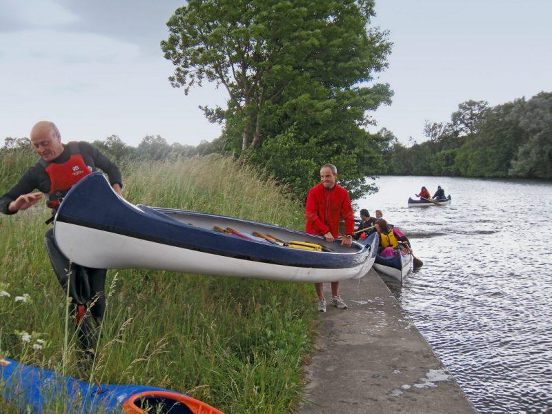 Kanuausfahrt Sommer 2010
