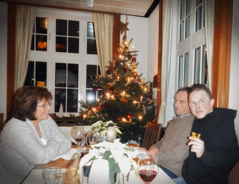 Christmas celebrations 2012