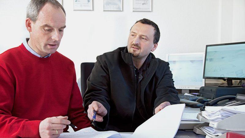 Bertram Hagenkötter und Andreas Jadowski