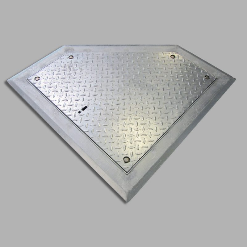 Abdeckung Fünfkant