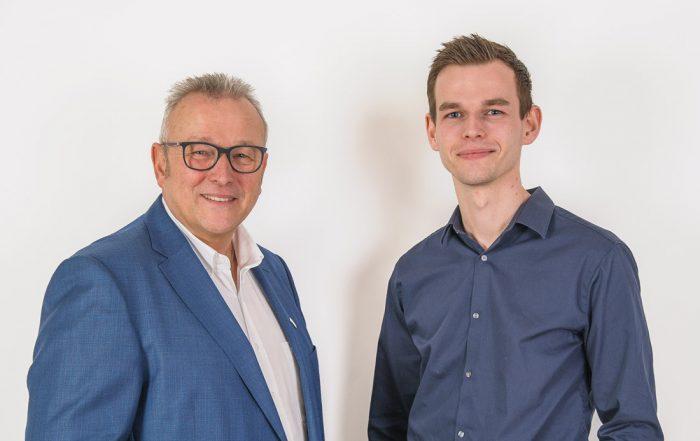 Jörg Müller (l.) und Max Müller (r.)