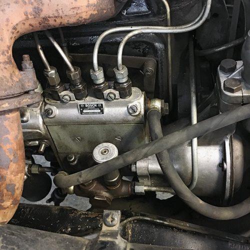 Cleaned motor block