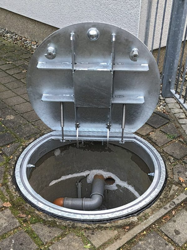 Redevelopment of a pump shaft for rainwater