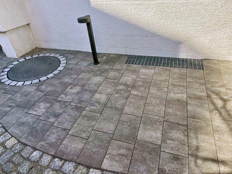 Neugestaltung einer Vorgartenanlage