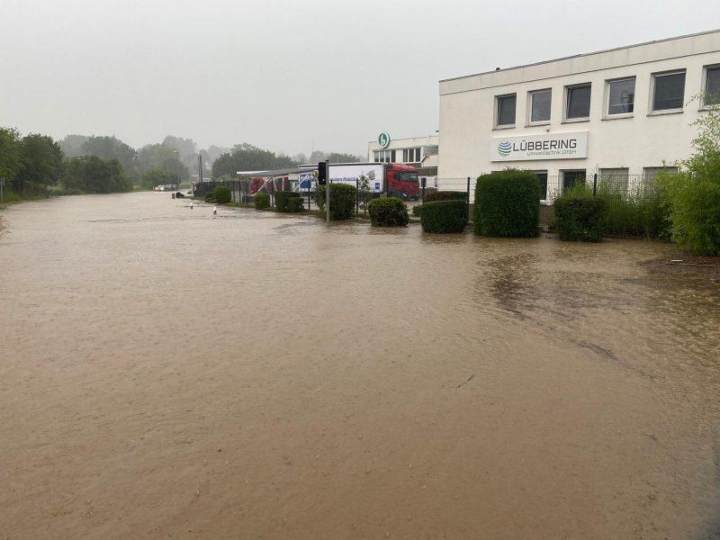 Auswirkungen der Hochwassernotlage