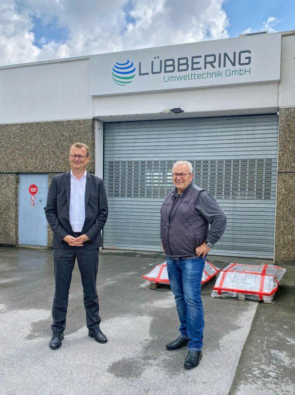 Oliver Kaczmarek MdB and Jörg Müller