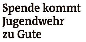 Artikel in der Westfalenpost vom 3. August 2021