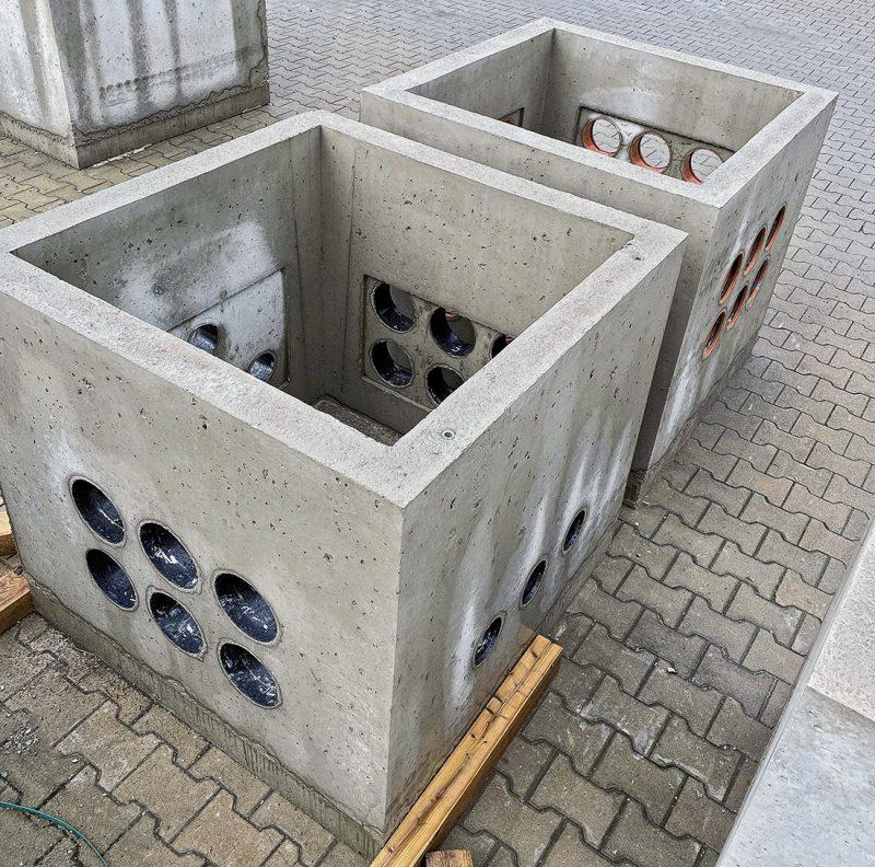 Concrete shaft